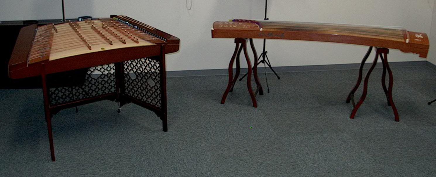 揚琴と古箏